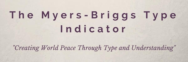 Learn Your Type by Myers Briggs
