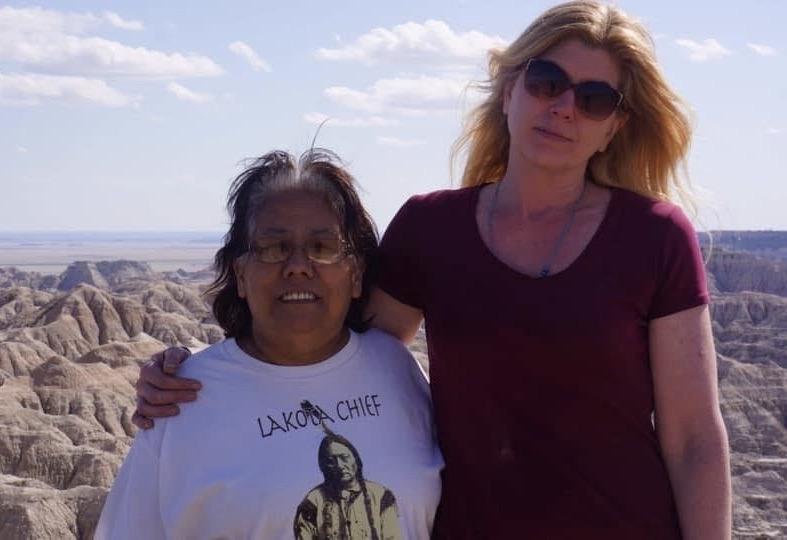 Tam and Lakota Chief